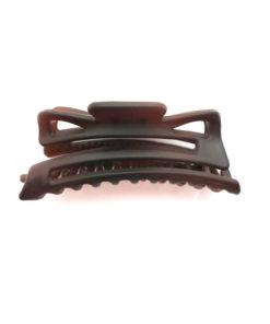 Wasserwellklammer groß flexibel braun